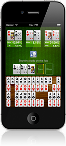 Screenshot of Pocket Odds for iPhone