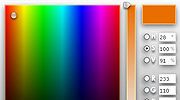 Screenshot of Colour Picker